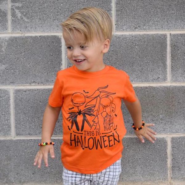 This Is Halloween Toddler and Baby Tee
