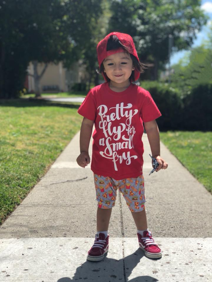 1ad52adf5 Pretty Fly For A Small Fry® Kids Shirt – spillthebeansetc.com