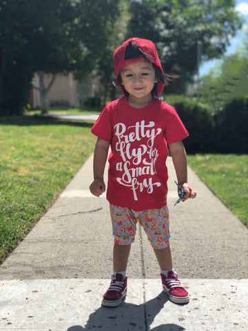 Pretty Fly For A Small Fry® Kids Shirt