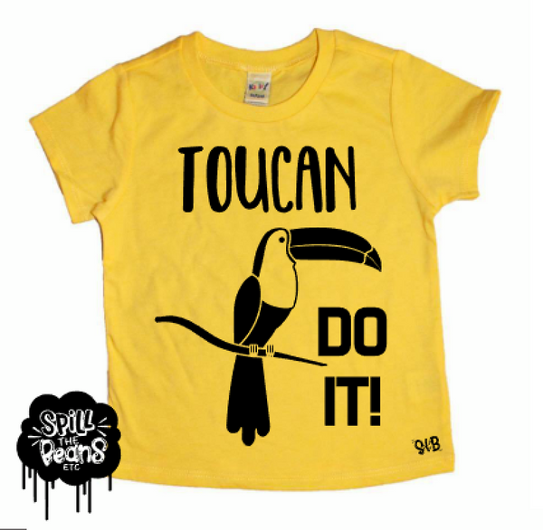 Toucan Do It Kid's Bodysuit or Tee