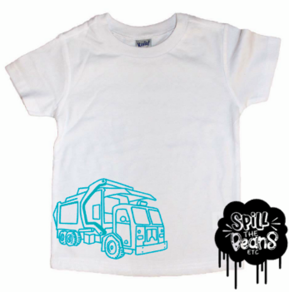 Big Truck Kid's Shirt