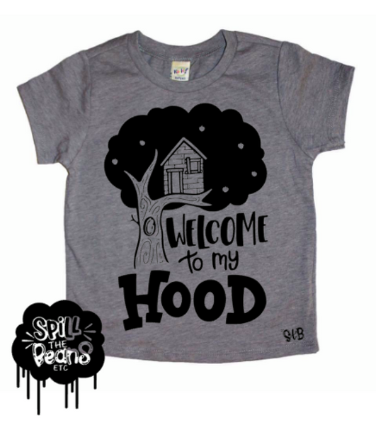 Welcome To My Hood Kid's Shirt