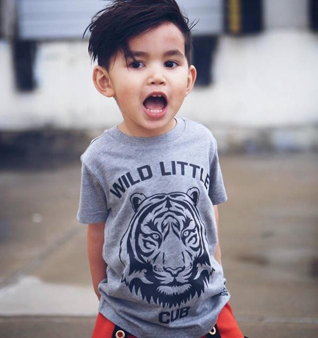 Wild Little Cub Kids Tee