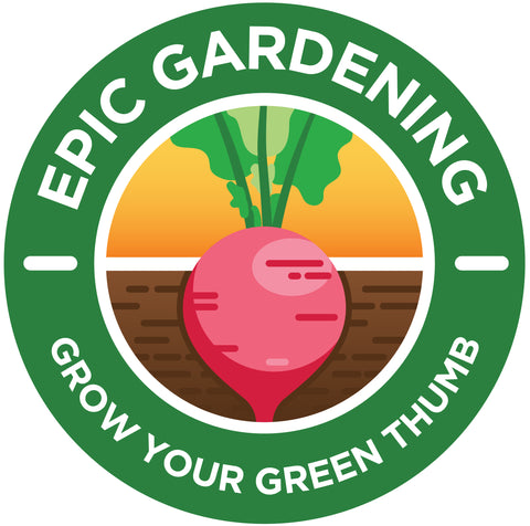 Epic Gardening Radish Sticker