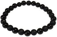 Men's Black Tourmaline Onyx Bracelet
