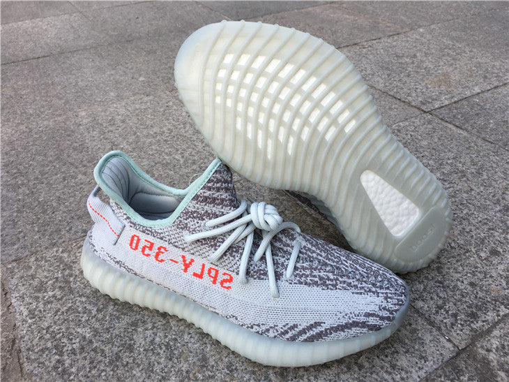 Cheap Yeezy 350 V2 Blue Tint Shoes for Sale, Cheap Yeezys B37571 Boost