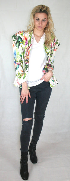 Tailored Tropical Jacket