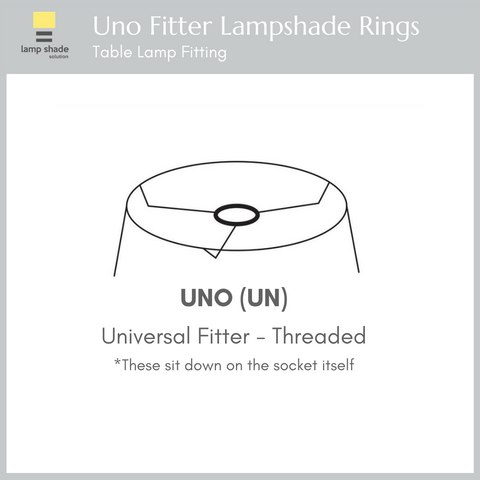 uno fitter lampshade