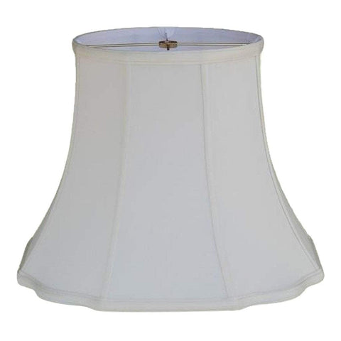 lamp shade 10 x 16 x 13'' / Supreme Satin / Off White Fancy Octagon Lamp Shade