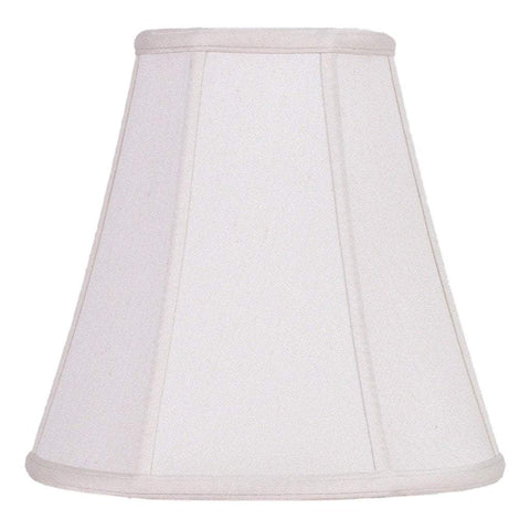 lamp shade 10 x 16 x 14'' / Supreme Satin / Natural White Deep Empire Lamp Shade
