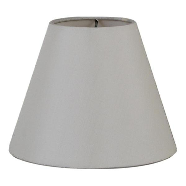 lamp shade 3 x 4 x 4'' / 100% Pongee Silk / Oyster Empire Chandelier Hardback 100% Real Silk Lamp Shade