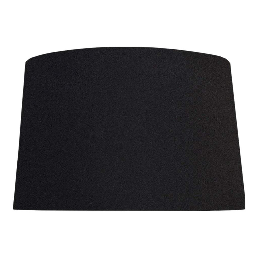 lamp shade 9 x 10 x 8'' (Washer) / Anna / Black Gold Lining Black Gold Lining Retro Drum Hardback Lamp Shade