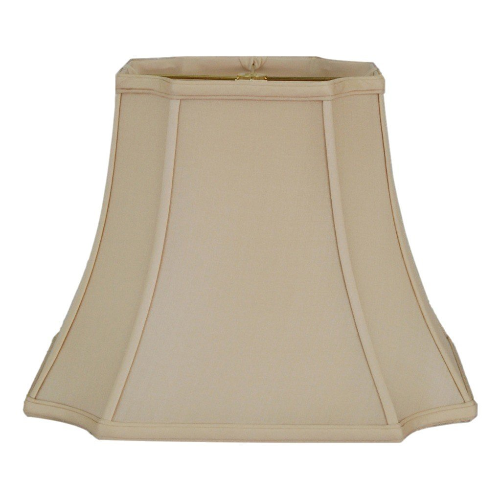 EE lamp shade 7.5 x 13 x 10'' (Washer) / 100% Pongee Silk / Sand 100% Pongee Silk Sand Cambridge Square Lampshade