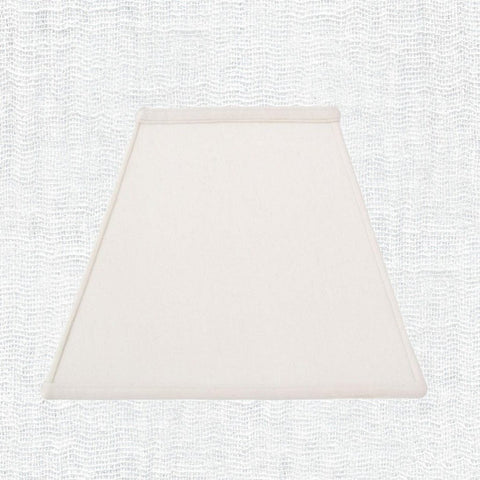 Lamp Shade Solution lamp shade 4 x 6  7.5 x 10.8'' / Supreme Satin / Off White Empire Rectangle Lamp Shade
