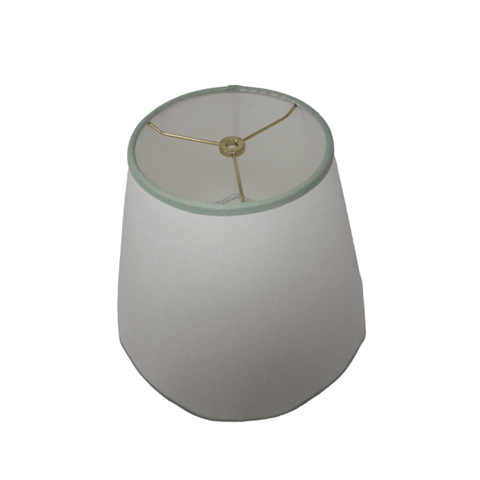 LAMP SHADE SOLUTION lamp shade Custom Drum Laminated Linen Lamp Shade