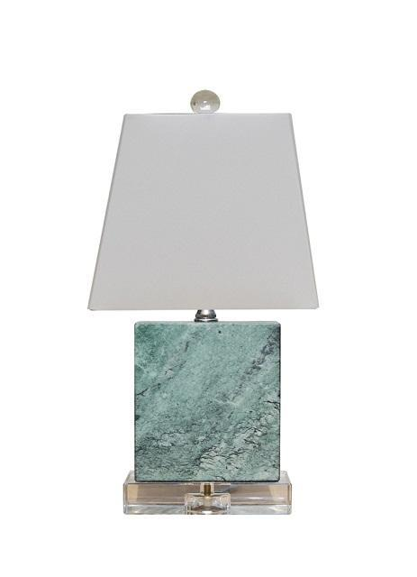 Lamp Shade Solution Mini Lamps Blue Jade Crystal Mini Table Lamp