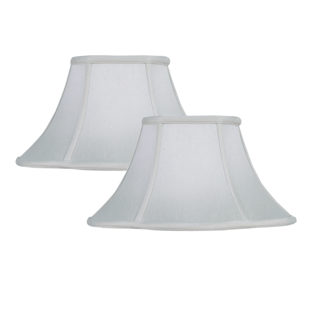 Lamp Shade Solution Off White Supreme Satin Fancy Oval Lamp Shade