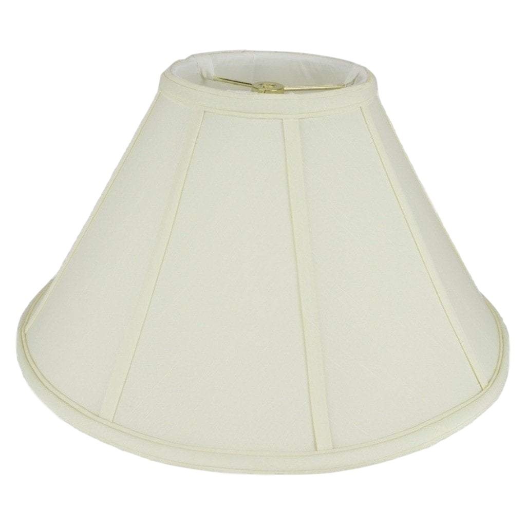 Monter Lite lamp shade 6 x 16 x 10'' / Shantung / Eggshell Coolie Soft Lining Lamp Shade
