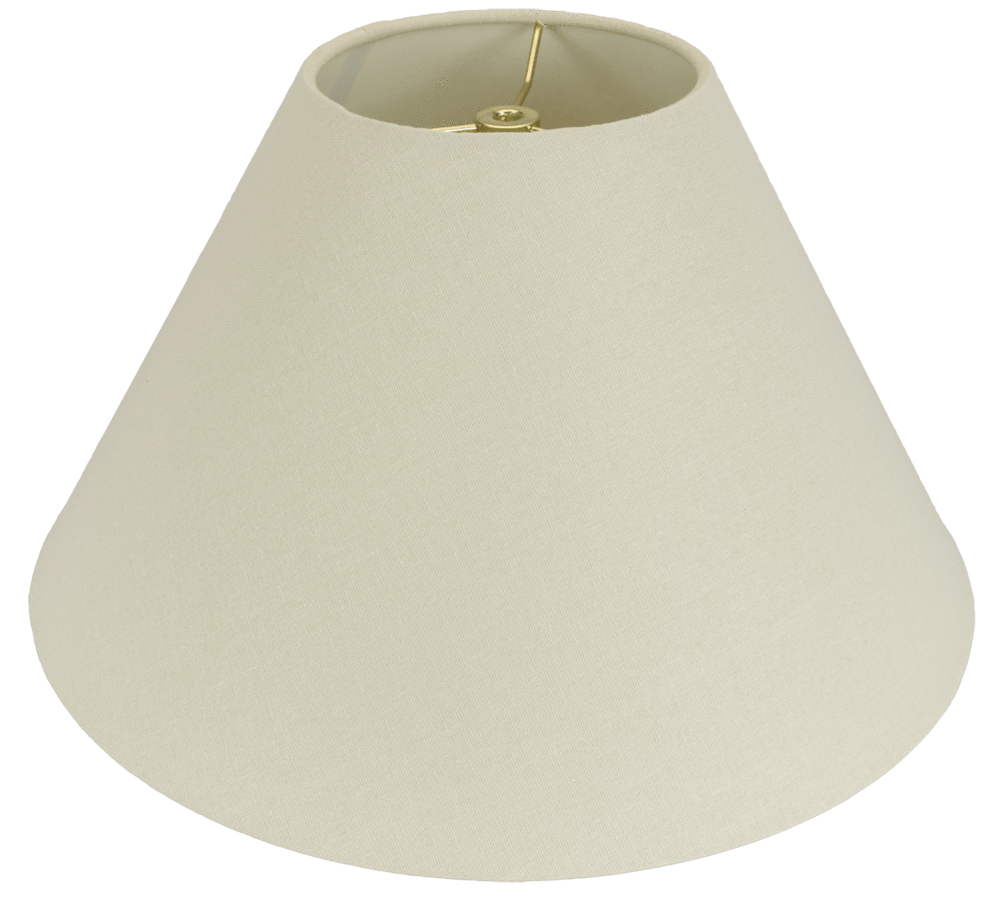 lamp shade Homespun Linen Hand Rolled-Edge Coolie Hardback Lamp Shade