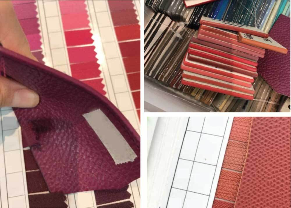 Color Swatches in Factory