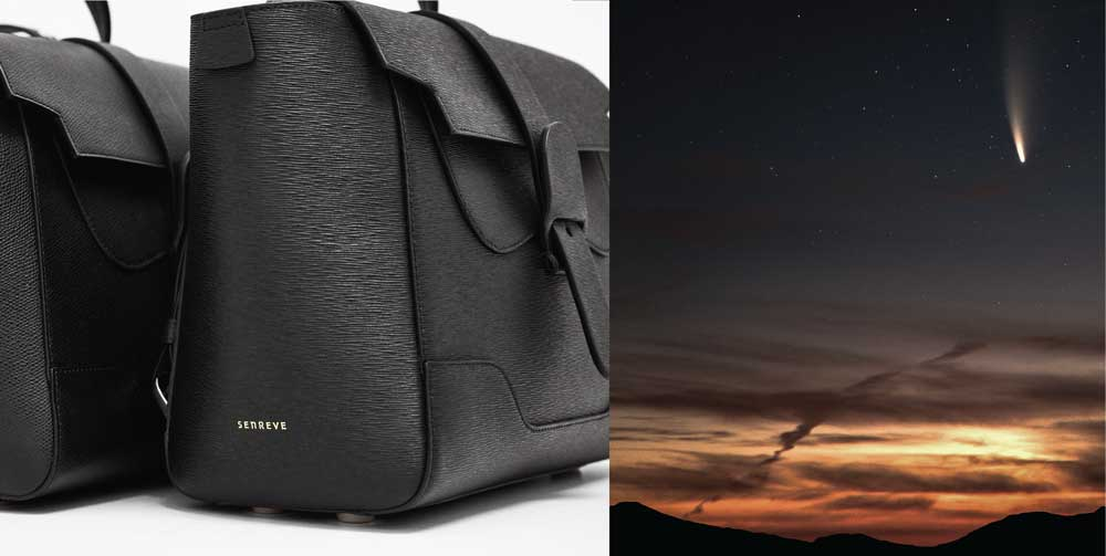 Black Handbags and Night Sky