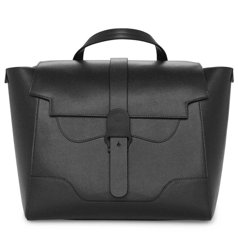 Maestra Bag in Pebbled Noir