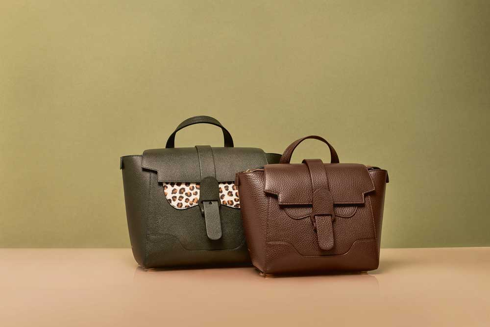 Forest-themed Maestra bags