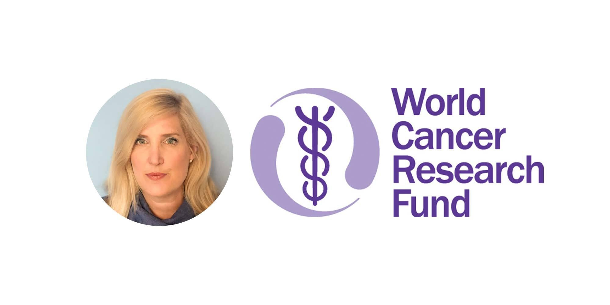 WCRF Logo and UK CEO