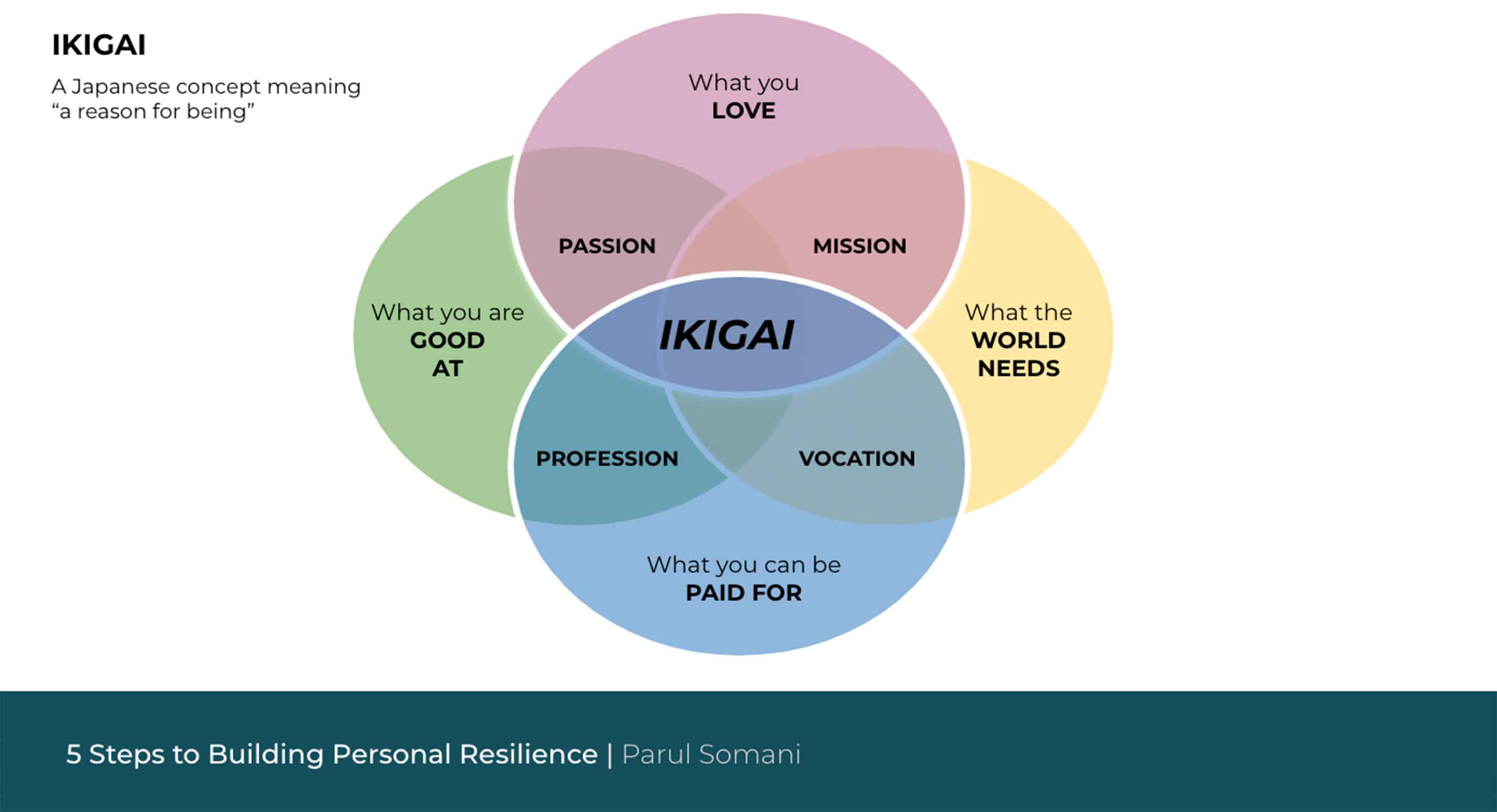 Parul's 5 Steps Finding Ikagi
