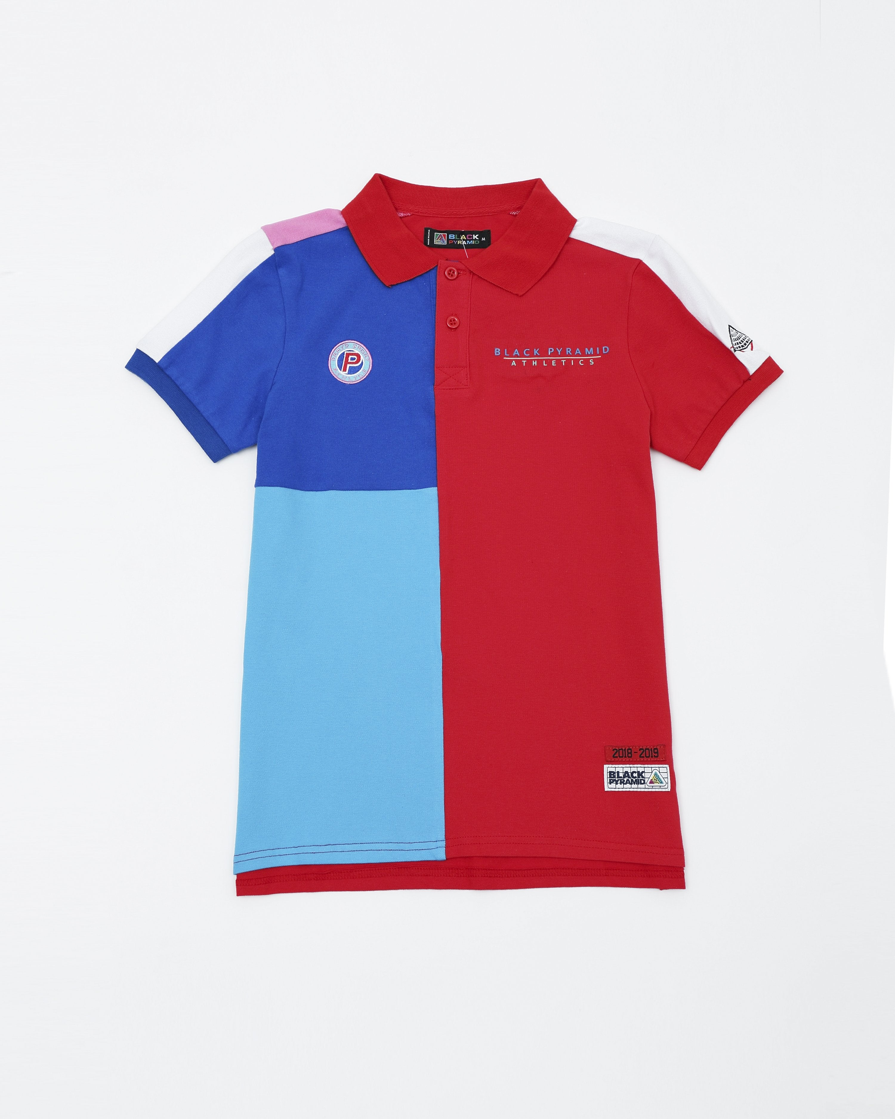 c4806c7e0 BP Athletic Colors Kids Polo - Color  Red ...
