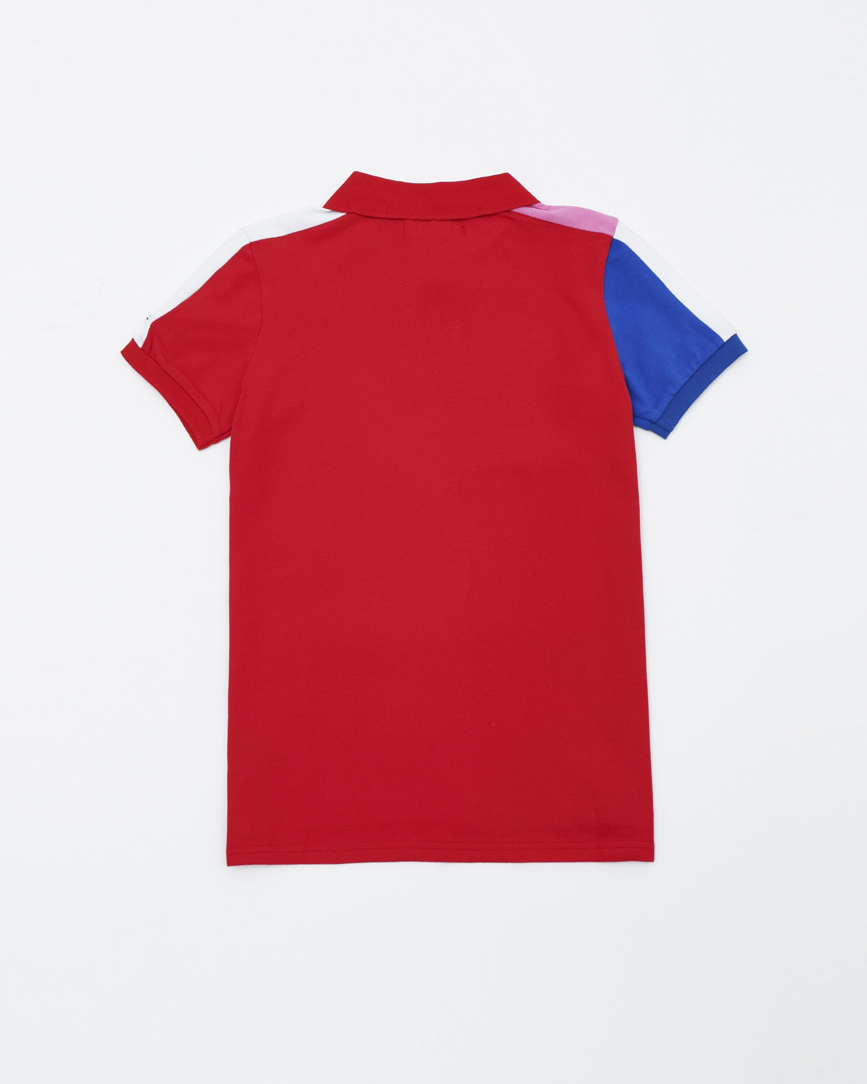 b57537f88 ... BP Athletic Colors Kids Polo - Color  Red ...