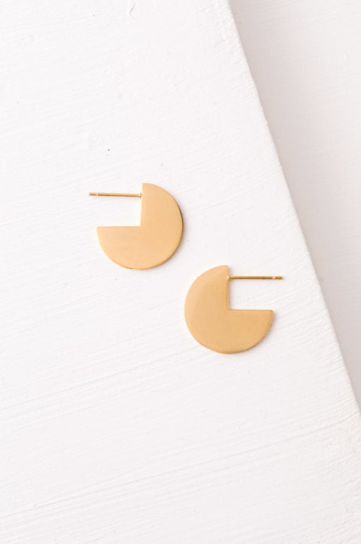 Florence Earrings-The Ethical Olive