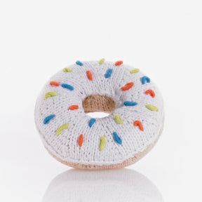 Sprinkle Donut Rattle-The Ethical Olive