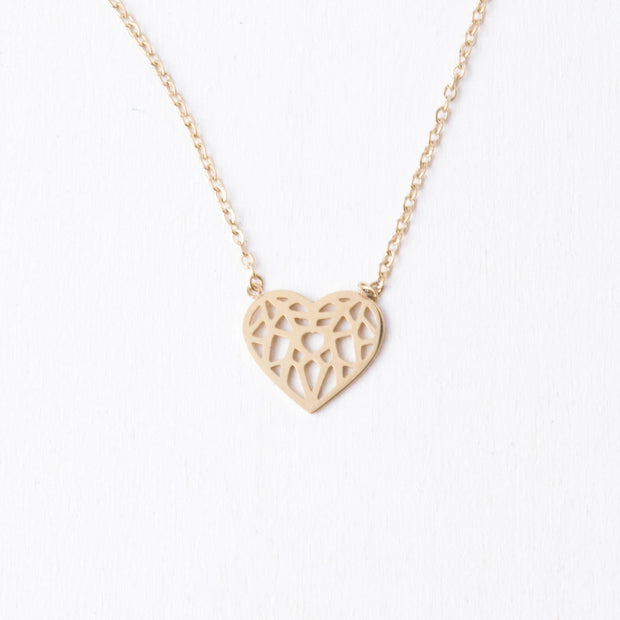 Ling Heart Pendant Necklace