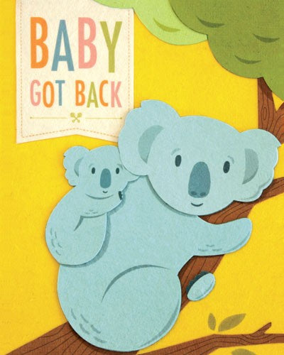 Baby Got Back card - The Ethical Olive