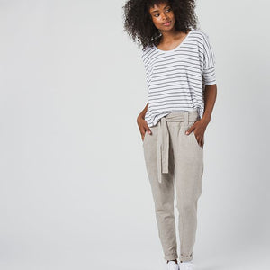 Astrid Pants- Tan - The Ethical Olive
