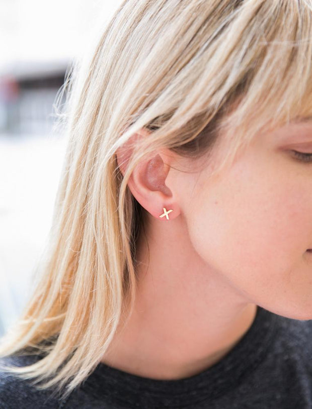 XO Earrings-The Ethical Olive