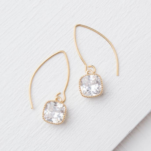 Spark Gold Earrings