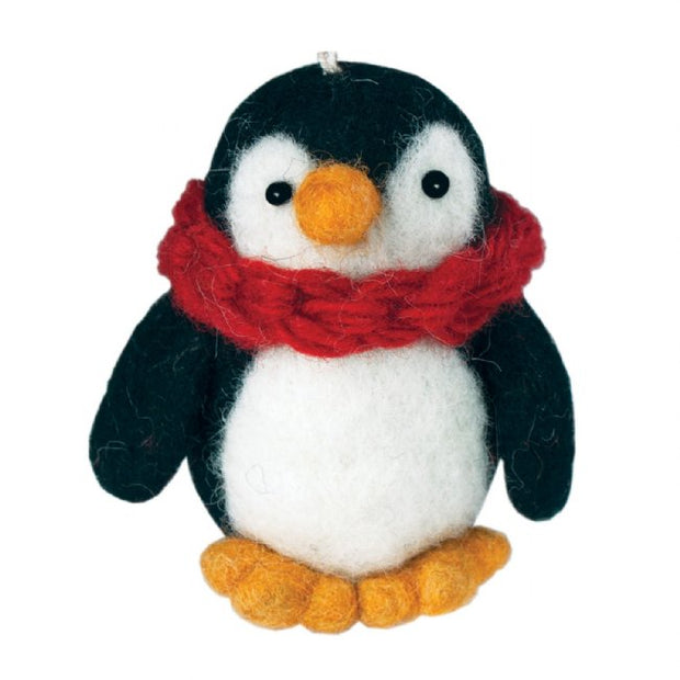 Penguin Ornament-The Ethical Olive