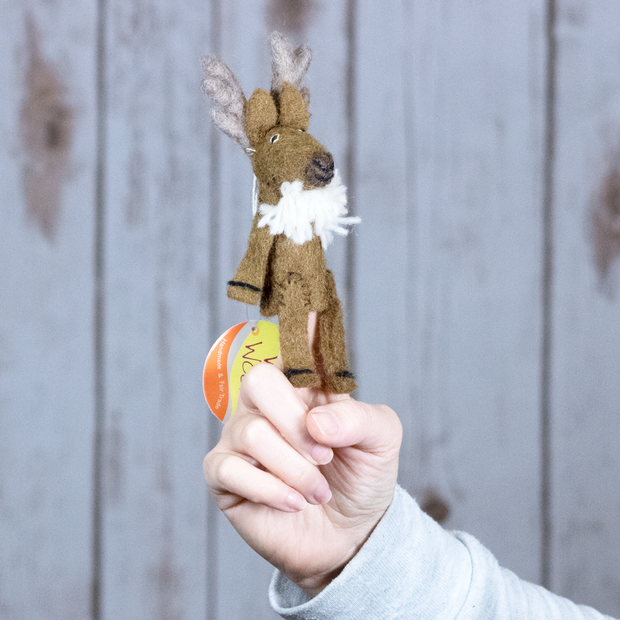 Felt Finger Puppets-The Ethical Olive
