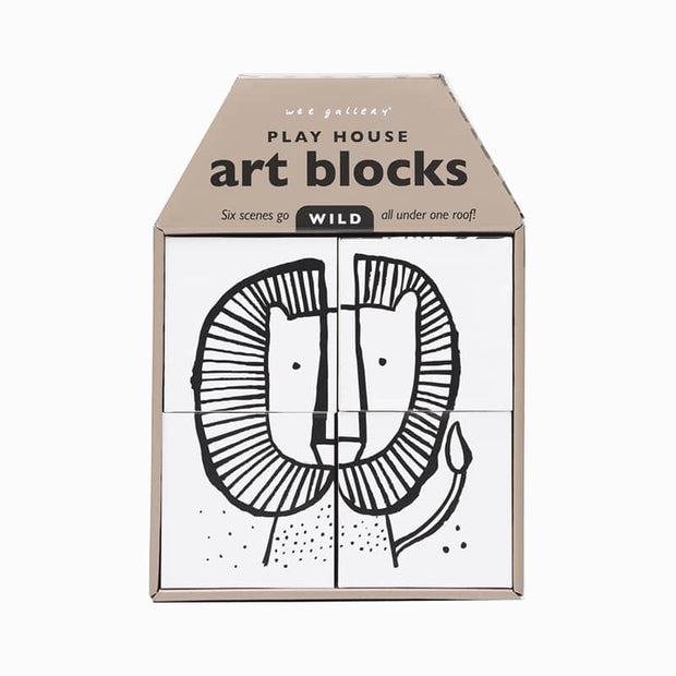 """Wild"" Art Blocks-The Ethical Olive"