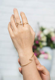 Lisa Gold Knot Ring