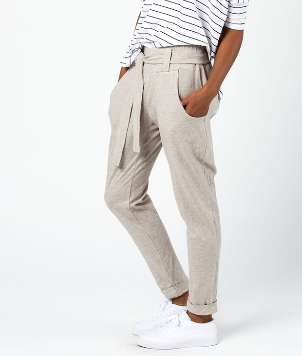 Tan Astrid Pants-The Ethical Olive