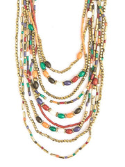 Desert Sunset Necklace-The Ethical Olive