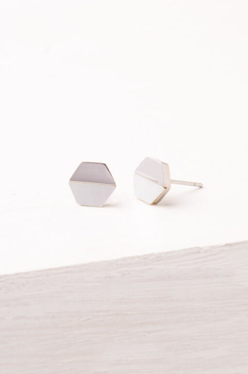 Dorothy Hexagon Earrings