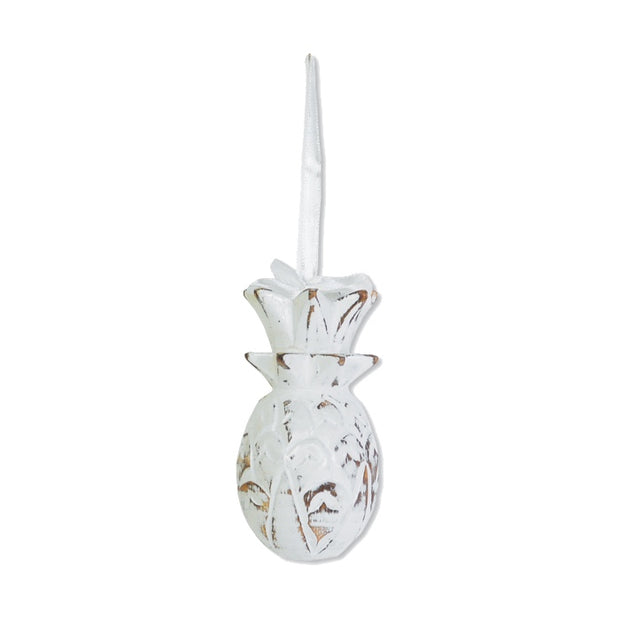 Whitewashed Pineapple Ornament-The Ethical Olive