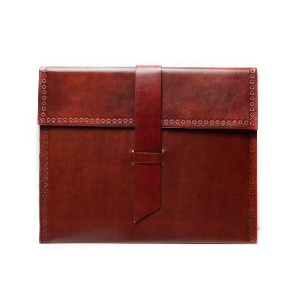 Sustainably Sourced Leather iPad Case-The Ethical Olive
