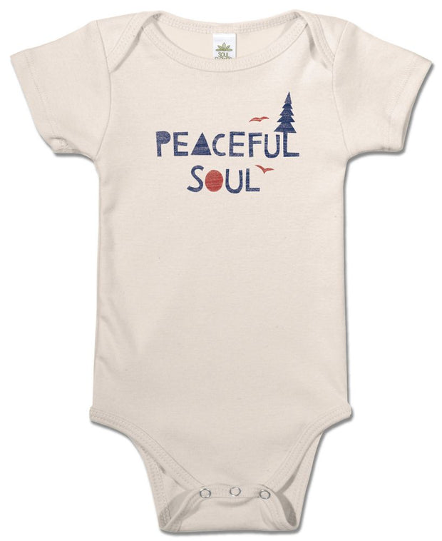 Peaceful Soul Onesie-The Ethical Olive