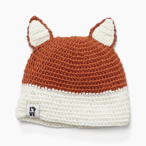 Fox Beanie-The Ethical Olive