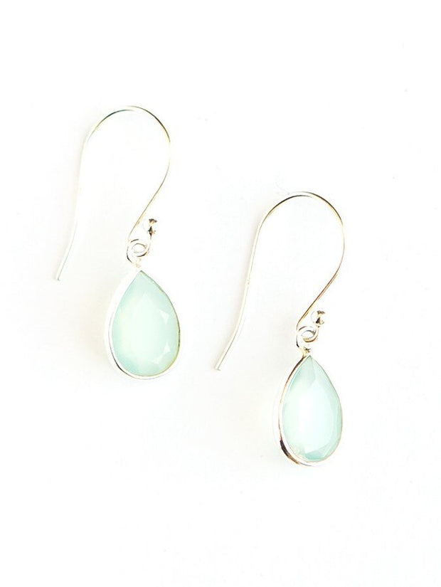 Raindrop Earrings- Aqua